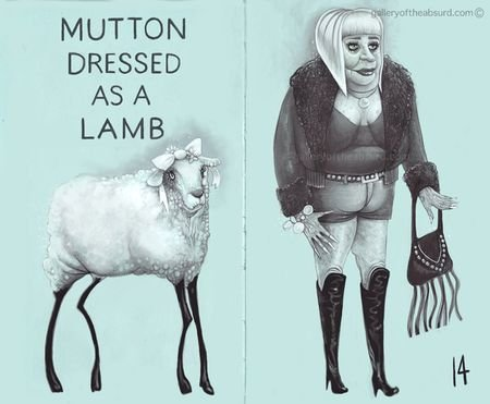 Mutton Dressed As Lamb Re Re