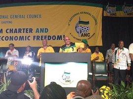 Jacob Zuma at ANC NGC