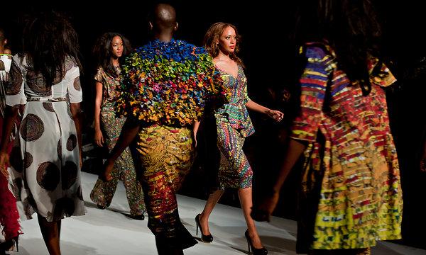 Nigeria S Fashionistas Take Designs Global