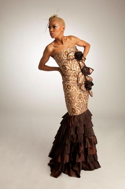 Nigeria's fashionistas take designs global