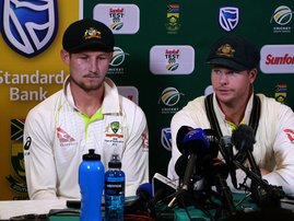 Cricket Australia's Steve Smith and David Warner