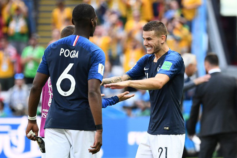 finest selection 34a41 179fc Griezmann hits historic VAR penalty as France squeeze past ...