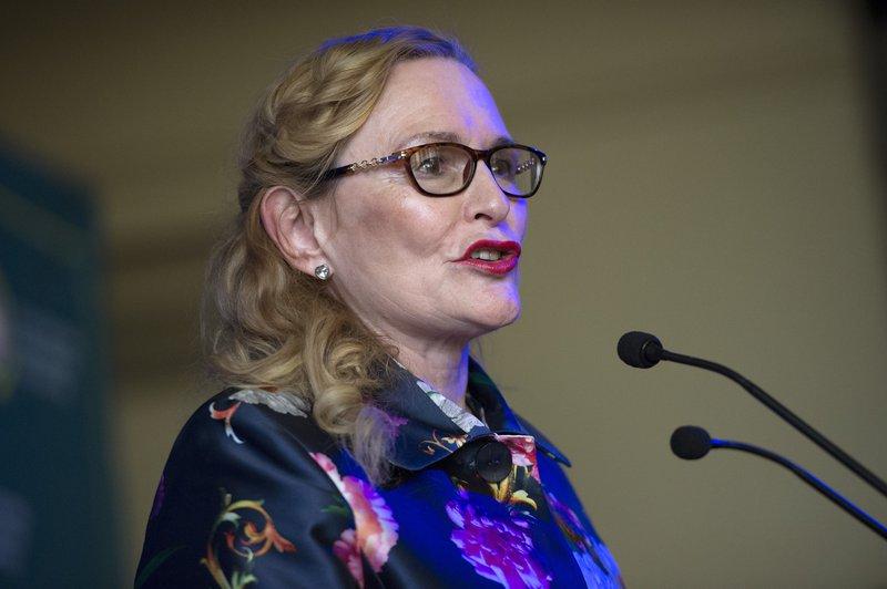 Helen Zille speaking