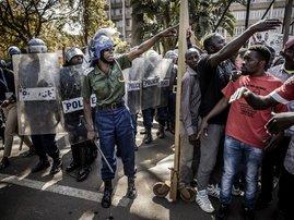 Zimbabwe ElectionProtest