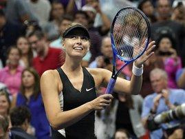 Maria Sharapova US Open 2018