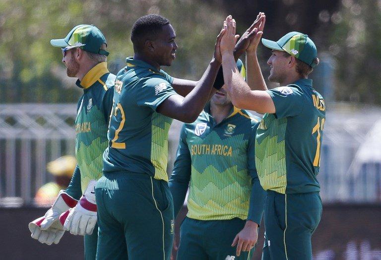 South Africa v Zimbabwe cricket