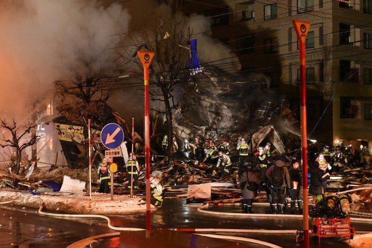 Sapporo explosion