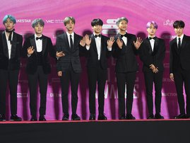 Korean boy band BTS / AFP