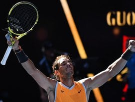 Rafael Nadal Australian Open 2019