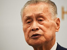 YoshiroMori_AFP