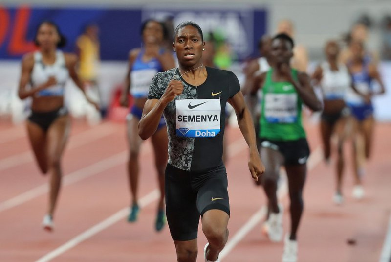 Caster Semenya at Doha