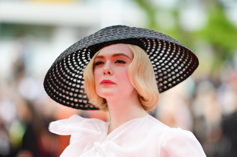 Us Actress And Member Of The Jury Of The Cannes Film Festival Elle Fanning Arrives For