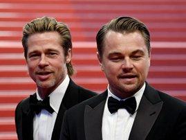 Brad Pitt and Leonardo DiCaprio / Alberto PIZZOLI / AFP