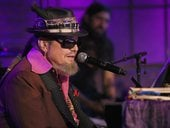 In this file photo taken on November 02, 2016 Singer-songwriter Dr. John performs on stage for Skyville Live in Nashville, Tennessee. New Orleans music icon Malcolm John Rebennack Jr. better known as Dr. John died on June 6, 2019 of a heart attack, he was