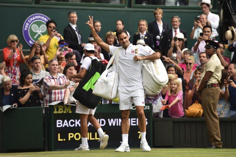 Roger Federer Wimbledon R3 2019