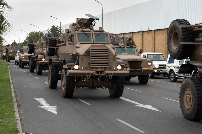 Ramaphosa extends SANDF stay in Cape Town