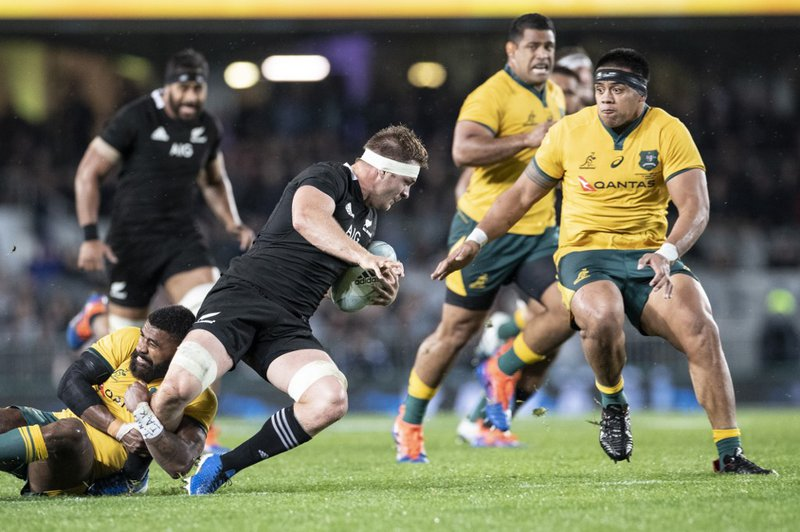 All Blacks Wallabies - AFP