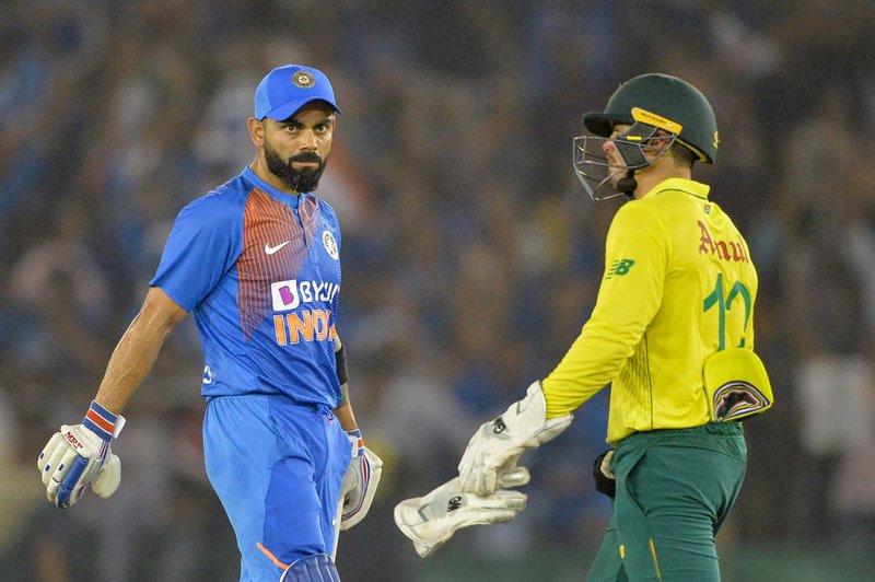 India Proteas Kohli - AFP