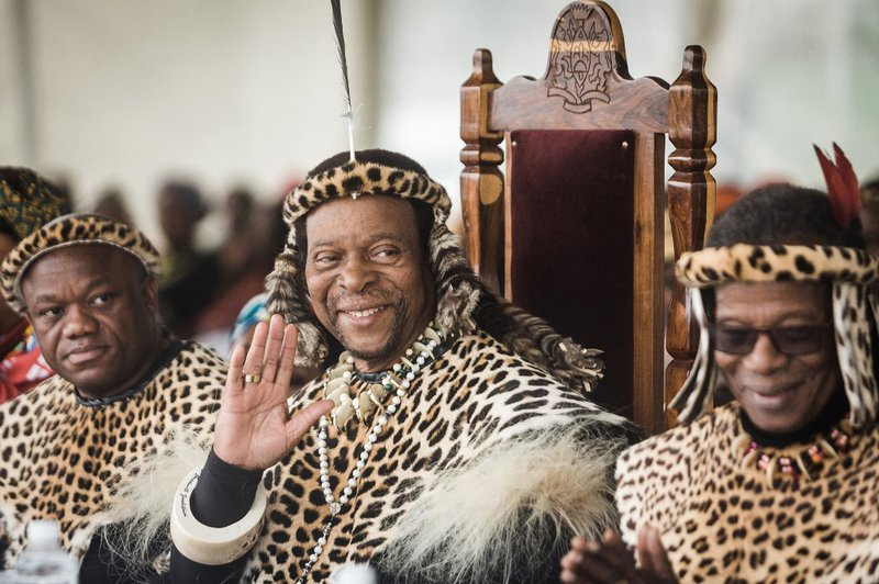 King Goodwill Zwelithini  - AFP
