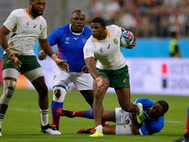 Warrick Gelant Springboks - AFP