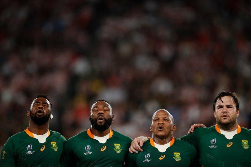 Springboks World Cup Anthem - AFP