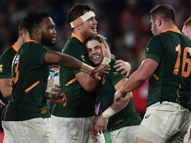 Springboks World Cup AFP