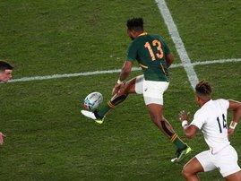 Lukhanyo Am Springboks - AFP