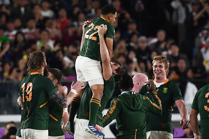 springboks final win CHARLY TRIBALLEAU / AFP