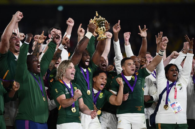 Springboks World Cup Final - AFP