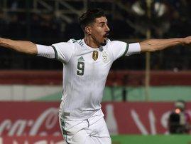 Algeria Baghdad Bounedjah - AFP