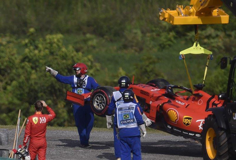 Ferrari Vettel - AFP