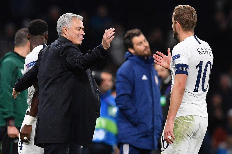 Jose Mourinho Tottenham Hotspur - AFP