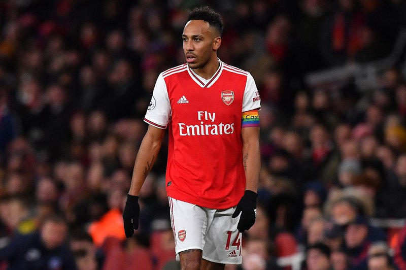 Arsenal Pierre-Emerick Aubameyang - AFP