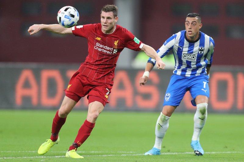 James Milner Liverpool - AFP