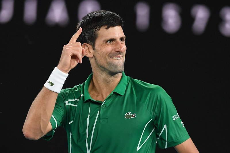 Novak Djokovic Australian Open - AFP