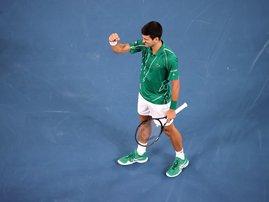 Novak Djokovic Aus Open win  - AFP