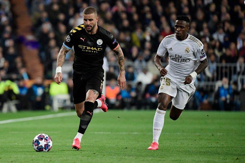 Kyle Walker Manchester City - AFP