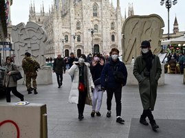 Italy needs 10 million masks to fight virus: official to AFP