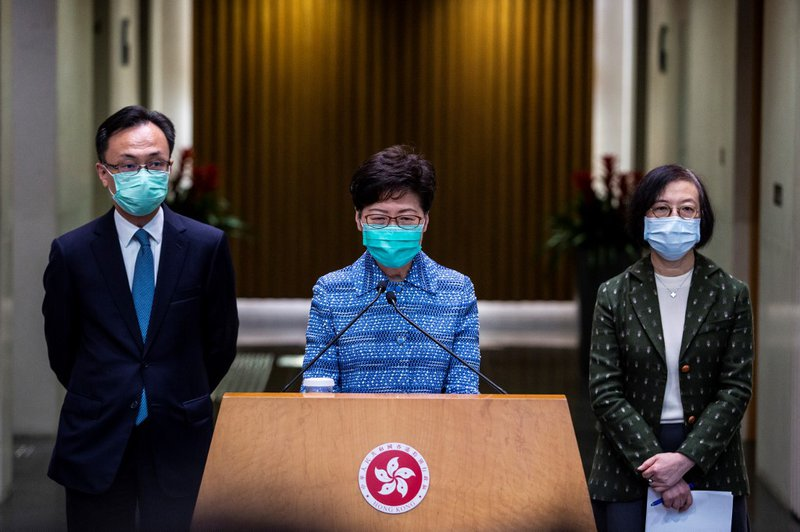 Carrie Lam coronavirus