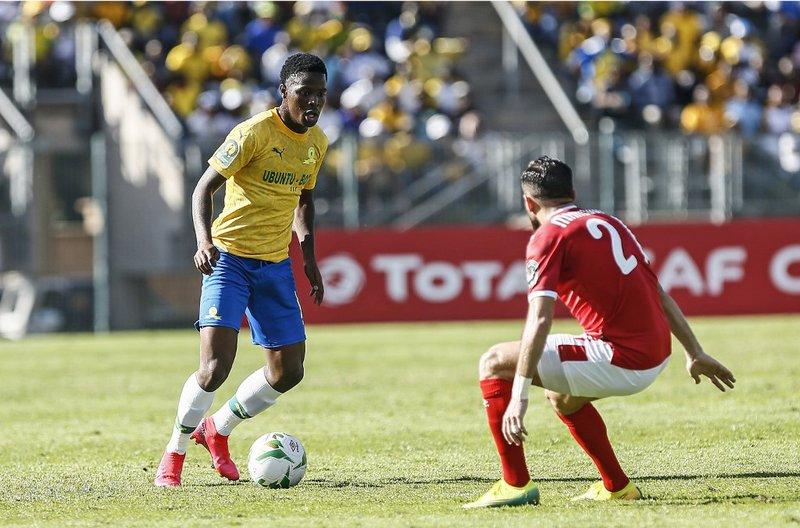 Phakamani Mahlambi Mamelodi Sundowns - AFP