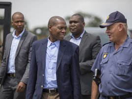 Zweli Mkhize The Ranch - AFP