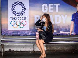 Tokyo Olympics Coronavirus - AFP