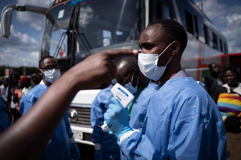 Rwanda Coronavirus - AFP