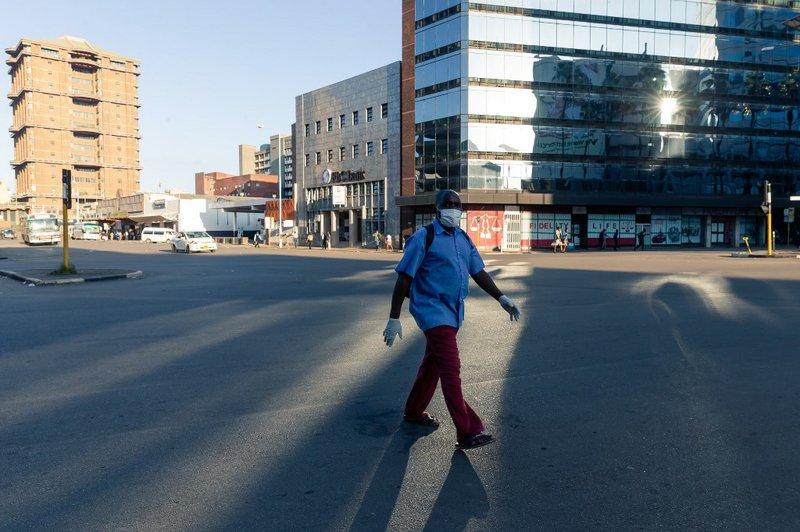 Zimbabwe Lockdown -AFP
