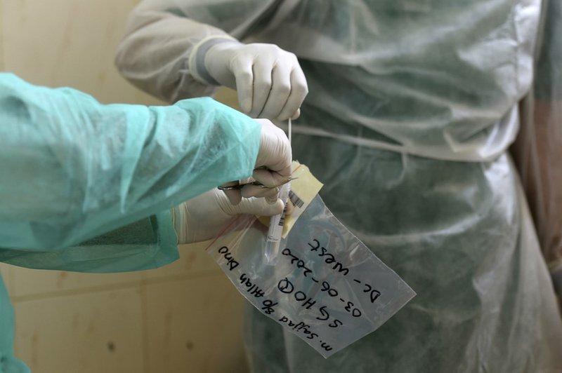 Covid Coronavirus Testing -AFP
