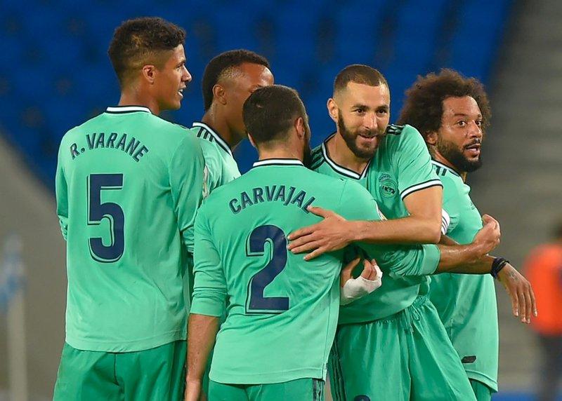 Karim Benzema Real Madrid - AFP