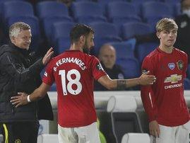 Manchester United Bruno Fernandes - AFP