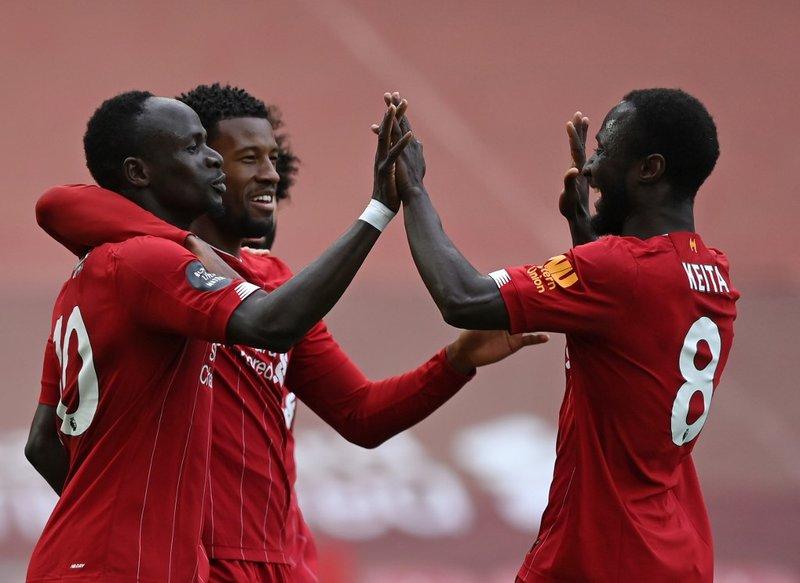 Sadio Mane Liverpool - AFP