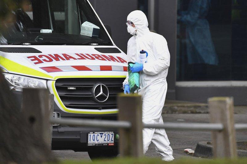 Coronavirus Australia Melbourne - AFP