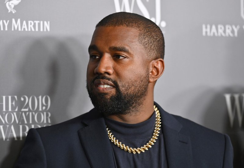 In this file photo taken on November 6, 2019, US rapper Kanye West attends the WSJ Magazine 2019 Innovator Awards at MOMA in New York City. A centerpiece of US President Donald Trump's economic relief program was under renewed scrutiny July 7, 2020 follo
